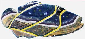 HUMUHUMUNUKUNUKUAPUAA TRIGGER FISH MOSAIC TILE ART NEW HANDMADE OCEAN SCENE