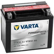 Varta Motor AGM Powersports Accu / Batterij YTX12-4/YTX12-BS