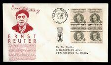 DR WHO 1959 ERNST REUTER BLOCK FDC C147843