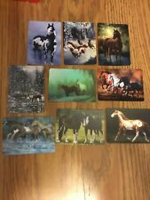 9 Single Swap Western Horse Paint Playing Cards