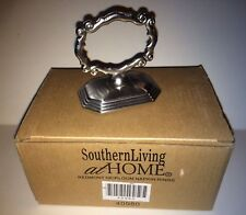 Southern Living at Home Napkin Rings Redmont Heirloom Place Card Holders Retired