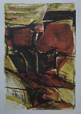 WALTER MARKERT (1926/2006) Litho - COMPOSITION ABSTRAITE N° 5/12  - Signé