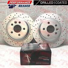 Per Ford Focus Rs MK2 Posteriore Performance Dischi Freno Mintex Da Pastiglie Di
