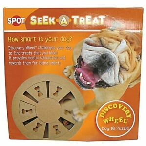 Seek-A-Treat Discovery Wheel Puzzle    Free Shipping