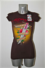t-shirt death before dishonor ED HARDY audigier Size XS NEW LABEL
