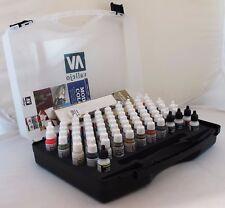 Vallejo modèle 70172 Couleur Hobby GAMME 72 Couleurs - 3 Brosses + Carry Case