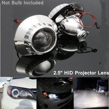 2.5'' LHD H1 Xenon HID Headlight Projector Lens Retrofit Hi/Low Beam For BMW E46