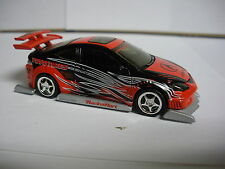 Hot Wheels 100% Acura RSX Red/Black with Real Rider Tires
