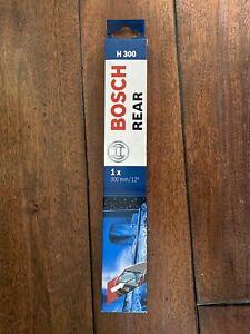 "NEW BOSCH 3397004628 REAR WIPER BLADE H300 12"""