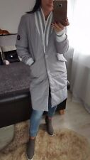NEW Fashion Women's Ladies Girls autumn winter long jacket size S  grey