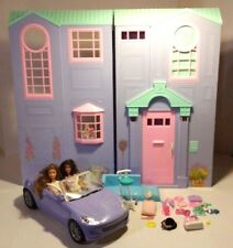 VINTAGE BARBIE TALKING SOUNDS FOREVER TOWNHOUSE DOLL FURNITURE CAR ACCESSORIES