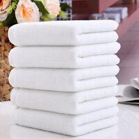 EG _ 1 x Blanc Doux Maison Hôtel Serviette de bain gant toilette voyage main