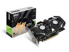 MSI GeForce GTX 1050 Ti 4GT OC Graphics Card, PCI-E x16, No SLI, OC performance