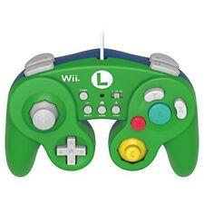 New Wii Official Nintendo Super Mario Bros. Luigi Classic Gamecube Controller JP