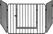 ib style® Blake reja de protección barrera de seguridad guardia contra incendios