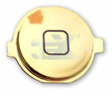 High Quality Mirror Chrome Lt Gold Home Button for iPhone 3G/3GS/4/4G 8/16/32GB
