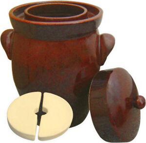 K&K Keramik German Gartopf Fermenting Crock Pot  - Kerazo Form 2