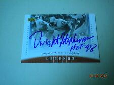 Dwight Stephenson , Dolphins Autographed 2006 U/D Deck Legends Card !