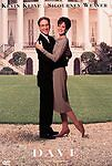 Dave (DVD, 1998 Warner Bros) Sigourney Weaver, Kevin Kline-NEW