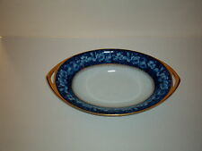 ROSENTHAL - DONATELLO ***BLEU ROYAL**** LARGE OVAL SERVING BOWL