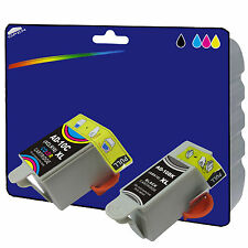 1 Black + 1 Colour Compatible Printer Ink Cartridges for Advent AW10 [AD10]