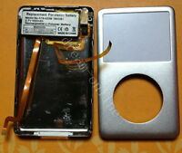 iPod Classic 6th 80gb Front&Back cover+headphone jack+battery assymbly