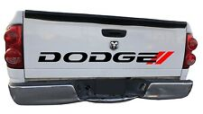 DODGE Tailgate Decals HEMI Trucks Sticker RAM 1500 DAKOTA RT Bed Vinyl Letters