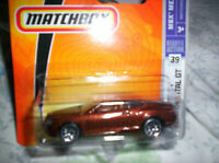 BENTLEY - CONTINENTAL GT - 2003 - MATCHBOX - 1/55