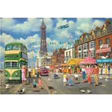 Gibsons Jigsaw Puzzles Blackpool Promenade by Derek Roberts G3075
