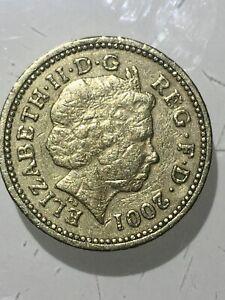 1£ ONE POUND RARE BRITISH COINS  CELTIC CROSS