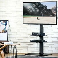 """32""""-65"""" TV Cart  Bracket With Height Adjustable Entertainment Units Office Stand"""
