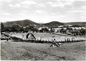 AK Eschwege /Werra bei Bad Sooden-Allendorf, Schwimmbad (Freibad), um 1965