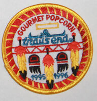 Boy Scout Patch Badge vintage Trails End Gourmet Popcorn 1995 1996 New feathers