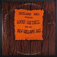 """LOUIS COTTRELL: and his new orleans jazz Nobility 12"""" LP"""