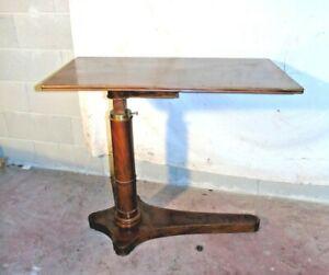 Tavolino meccanico Carlo X 1850 francese