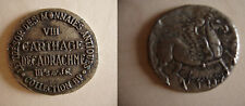 LE TRESOR DES MONNAIES ANTIQUES COLLECTION BP VIII CARTHAGE DECADRACHME III S.AV