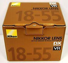 Afp Stepping Vr Nikon Af-p Dx Zoom Nikkor 18-55mm f/3.5-5.6G Lens New Gold Box