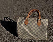 🔥 Louis Vuitton Speedy 30 NM Damier Azur Tela Monogram 🔥