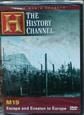 Dead Men's Secrets M19: Escape  Evasion Europe Allied POWs WWII (DVD 2007) NEW