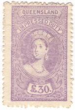 Queensland Australian Stamps