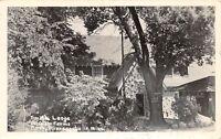 D4/ Minneapolis Minnesota Mn Real Photo RPPC Postcard 1949 Smith Lodge Rt 14