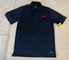 Nwot Greg Norman Ml75 Golf Polo,Trump,Small Men Loose.S/S Shirt,Navy,Excellent T