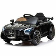 Bakaji Mercedes-Benz AMG 12V Auto Elettrico per Bambini - Nero