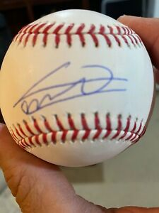 Vladimir Guerrero jr  signed & Autograph Baseball with JSA COA