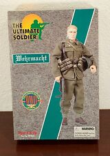 1999 THE ULTIMATE SOLDIER WW2 GERMAN WEHRMACHT ACTION FIGURE MIB