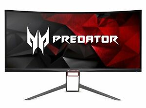 """Acer Predator Gaming X34 Pbmiphzx Curved 34"""" UltraWide QHD Monitor with NVIDI..."""