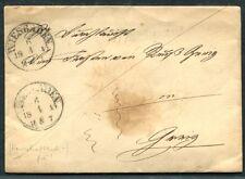 Wiesbaden 1845 principe lettera dopo Greiz (j4136