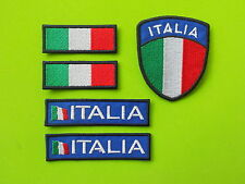 ITALIA PATCH KIT 5 TOPPE RICAMATE TERMOADESIVE