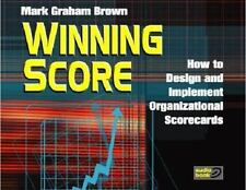 Winning Score - Audio Book - Compact Disk: How to Design and Implement Organizat