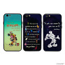 Disney Quote Case Gloss Tempered Hard Glass for Apple iPhone 6 6s 7 8 X XS Cover